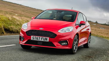 New Ford Fiesta ST-Line - front action