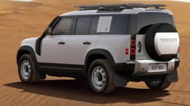 Dean Gibson Land Rover Defender rear