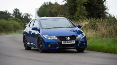 Honda Civic Sport - front cornering