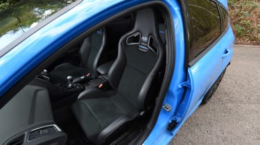 Ford Focus RS group - front seats