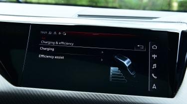Audi e-tron GT - screen