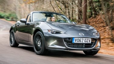 New Mazda MX-5 Z-Sport 2018 review - front