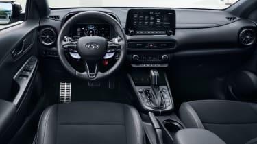 Hyundai Kona N - dash
