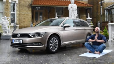 Long-term test review Volkswagen Passat Estate - second report header