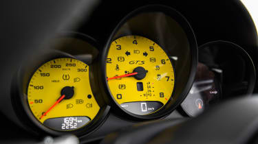 Porsche 718 Boxster GTS - speedo