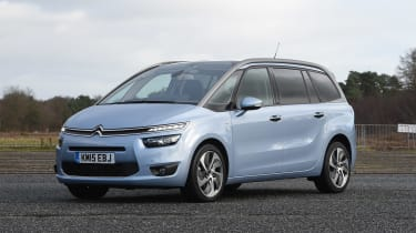 Citroen Grand C4 Picasso - front static