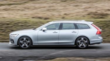 Volvo V90 R-Design 2017 - side tracking