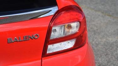 Suzuki Baleno - rear light detail