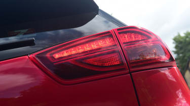 New Kia Niro Hybrid - rear lights
