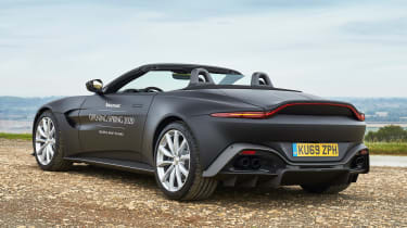 Aston Martin Vantage Roadster - rear static