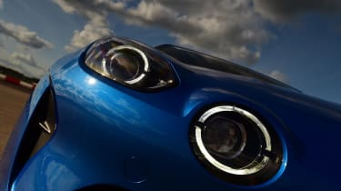 Alpine A110 - headlight