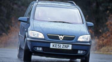 Vauxhall Zafira front
