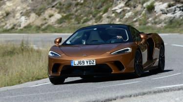 McLaren GT - front cornering