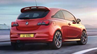 New Vauxhall Corsa GSi - rear