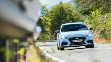 Hyundai i30 N - front action