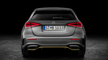 New Mercedes A-Class - studio full rear