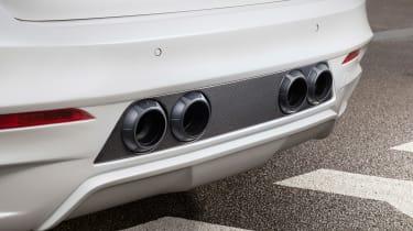 Hamann BMW X6 M50d - exhausts