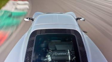 Lotus Exige S rear tracking