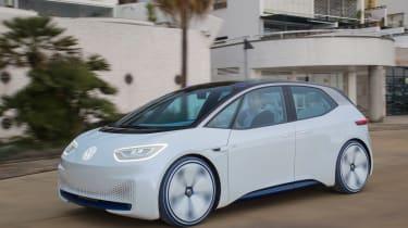 Volkswagen I.D. - front action