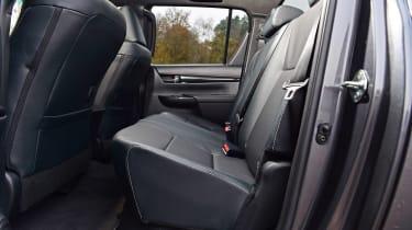 Toyota Hilux - rear seats