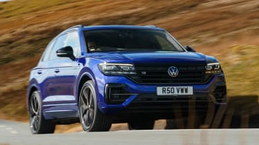 Volkswagen Touareg R - front action