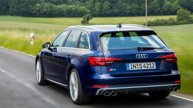 Audi S4 Avant 2016 - rear tracking