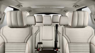 Land Rover Discovery 2017 - official seats