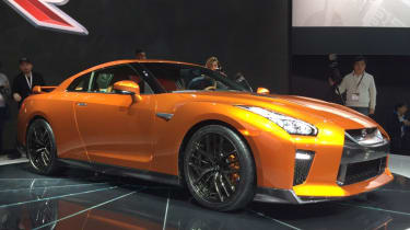 Nissan GT-R - New York show front