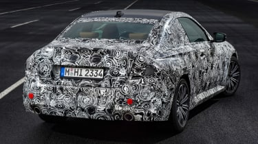 BMW 2 Series Coupe prototype - rear static