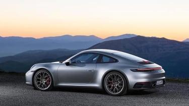 Porsche 911 - rear static