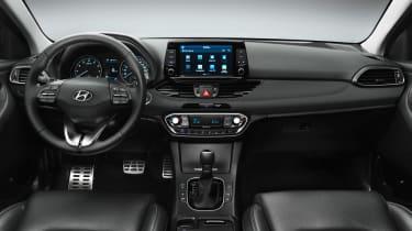 Hyundai i30 2017 - interior studio