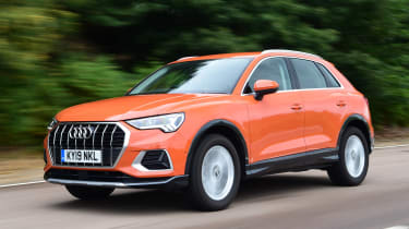 Audi Q3 - front tracking