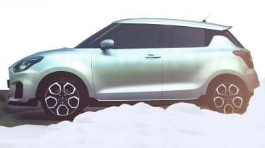 Suzuki Swift 2016 spied 3