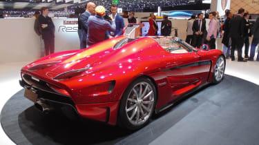 Geneva Motor Show 2016 - Koenigsegg Regera rear