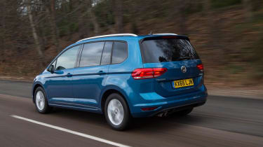 Used Volkswagen Touran - rear action