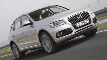 Audi Q5 2.0 TDI front action