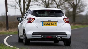 Nissan Micra N-Sport - rear cornering
