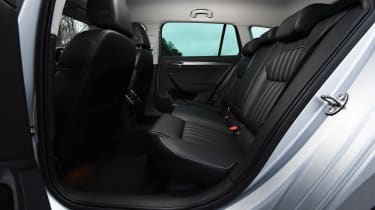 Skoda Superb iV Estate - rear seats