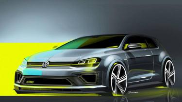 Volkswagen Golf R 400 sketch