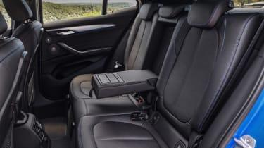 BMW X2 leak rear seats