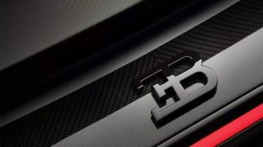 Bugatti Chiron-Sport badge