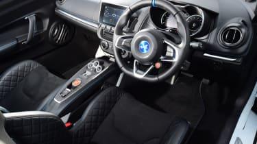 Alpine A110 interior