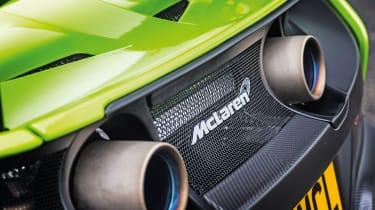 McLaren 675LT - exhausts