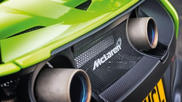 McLaren 675LT - exhausts