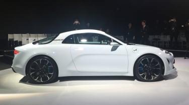 Renault Alpine Vision concept - show reveal side