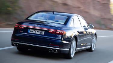 Audi S8 - rear action