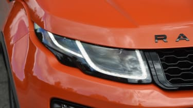 Range Rover Evoque Convertible - front light detail