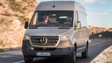 Mercedes Sprinter 2018 - front