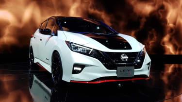 Nissan Leaf Nismo - Tokyo front static