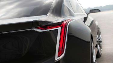 Cadillac Escala concept - tail light